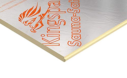 Kingspan SPU Sauna Dämmplatte 600 x 1200 x 30 mm