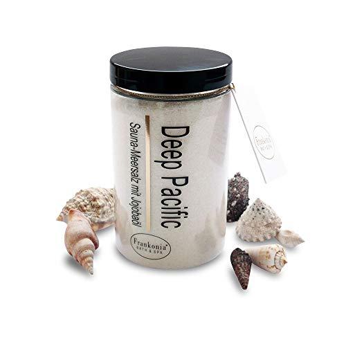 Sauna Salz Peeling – Deep Pacific 400g - Meersalz m. Jojobaöl Vitamin E