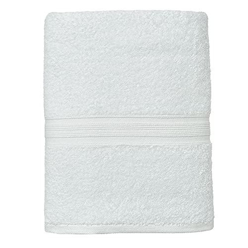 leevitex® FROTTIER XXL SAUNATÜCHER   SAUNATUCH   Set 1er Pack   80 x 200 cm   Qualität 500 g/m²   100% Baumwolle   Weiß