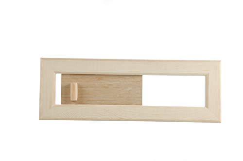 Eliga Lüftungsschieber aus Holz