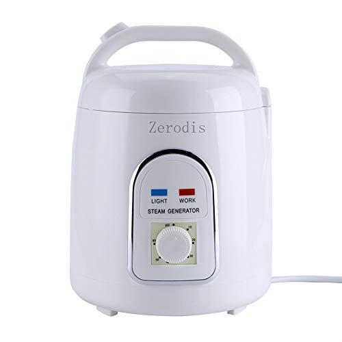Zerodis Sauna Dampfer Dampfgerät Dampfsauna Dampfmaschine Hautpflege 220V 1.8L Haus Tragbar(220V)