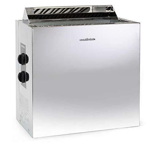 Sentiotec Nordex Style 6/8/9 kW Saunaofen mit integrierter Steuerung (8 kW)
