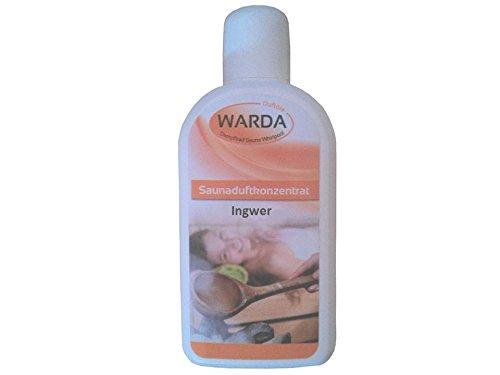 Saunaduftkonzentrat Ingwer 200 ml von Warda - Sauna-Aufguss Saunaduft Aromaduft Sauna-duft-konzentrat