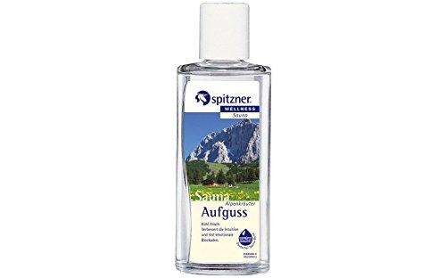 spitzner Saunaaufguss Alpenkräuter 190 ml