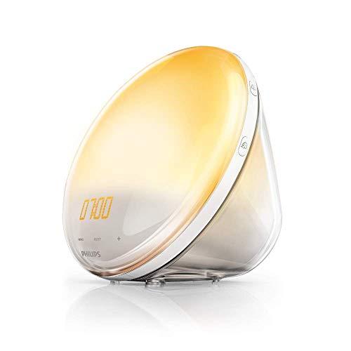 Philips HF3520/01 Wake-Up Light (Sonnenaufgangfunktion,...