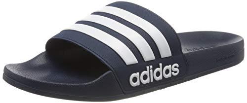 adidas Herren ADILETTE SHOWER Flipflop, Blau, 44.5 EU