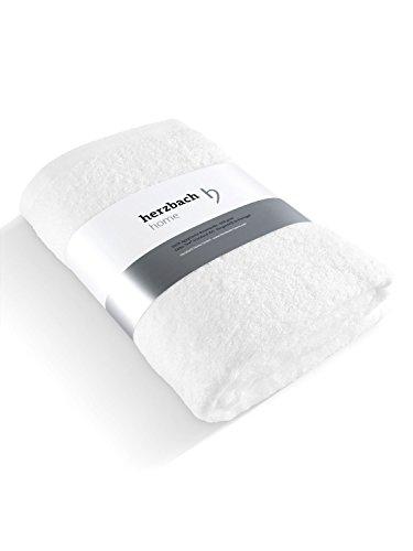 herzbach home Luxus Saunatuch Handtuch Premium Qualität aus...