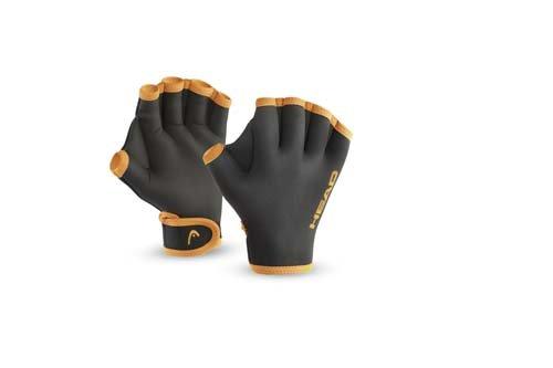 HEAD Erwachsene Schwimmhandschuhe Swim Glove, Black, L