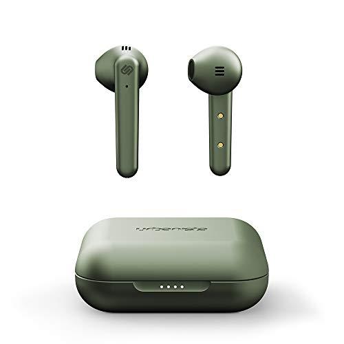 Urbanista Stockholm Plus Earbuds kabellos - über 20 Stunden Spielzeit, wasserfeste IPX4-Kopfhörer, In-Ear-Kopfhörer Bluetooth 5.0, Touch-Control & verbessertes Mikrofon...