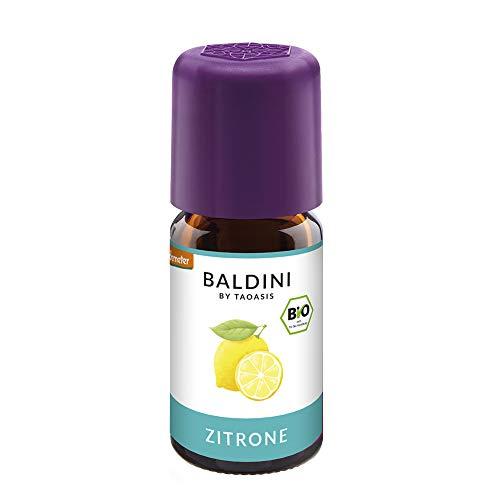 Baldini - Zitronenöl BIO,100% naturreines ätherisches BIO Zitronen Öl fein, 5 ml