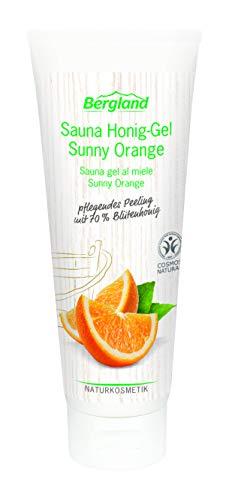 Bergland Sauna Honig-Gel Sunny Orange (1 x 125 g)