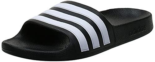 Adidas Unisex-Erwachsene Adilette Aqua Dusch-& Badeschuhe, Schwarz (Negro 000), 44.5 EU