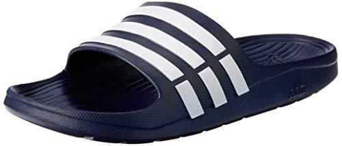 adidas Herren Duramo Dusch- & Badeschuhe, Blau (New Navy/White/New Navy), 44.5 EU (10 UK)