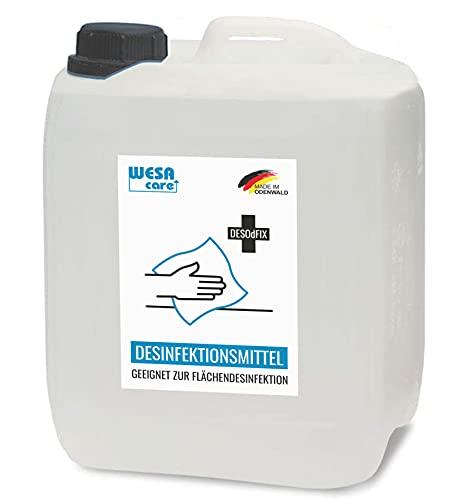 WESA CARE - 10L Flächendesinfektionsmittel im Kanister zur hygienischen und schonenden Desinfektion von Flächen ohne Alkohol