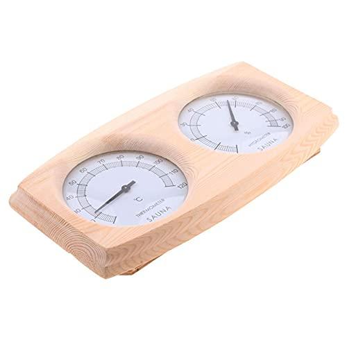 Yeeda Sauna Thermometer Hygrometer-2-in-1 Holz...