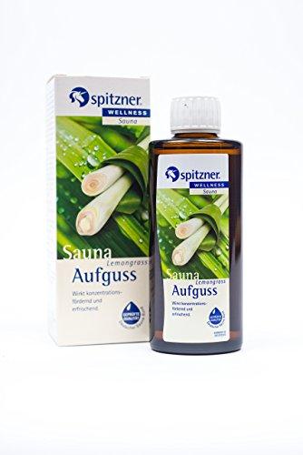 Spitzner Saunaaufguss Wellness Lemongrass (190ml) Konzentrat