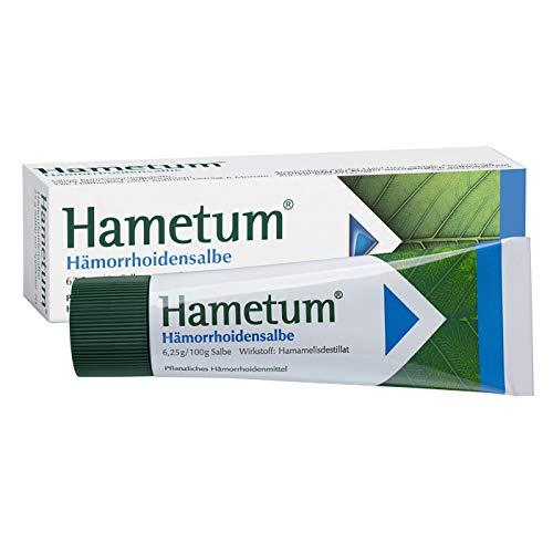 Hametum Hämorrhoidensalbe – Lindert die Beschwerden bei...