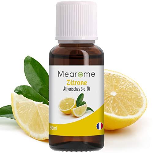 Zitronenöl BIO⎟Ätherisches Öl 100% Naturrein⎟Duft-Öl Zitrone 30ml⎟Aroma zum Verzehr Backen⎟Aromatherapie für Diffuser Immunsystem stärken mit Vitamin...