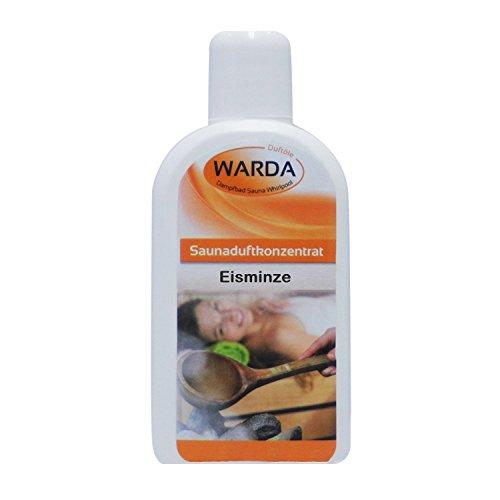 Warda Saunaaufguss Eisminze Konzentrat 200 ml Flasche,...