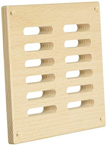 eliga Lüftungsgitter aus Holz, für circa 40 cm²...