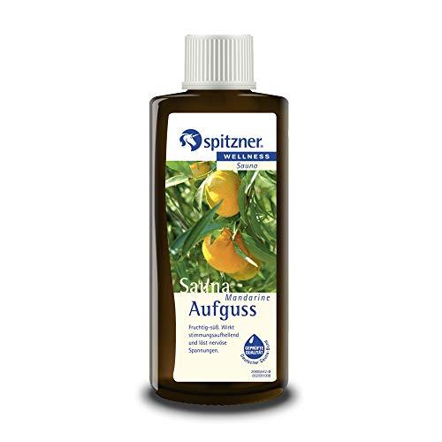 Spitzner Saunaaufguss Wellness Mandarine (190ml) Konzentrat