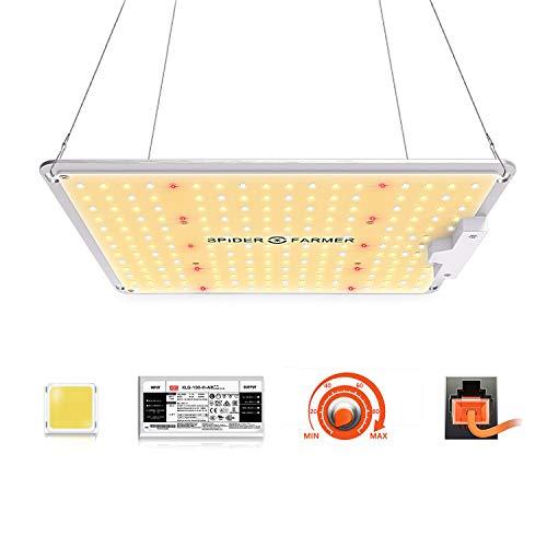 Spider Farmer LED Grow Lampe SF 1000 LED Pflanzenlampe...