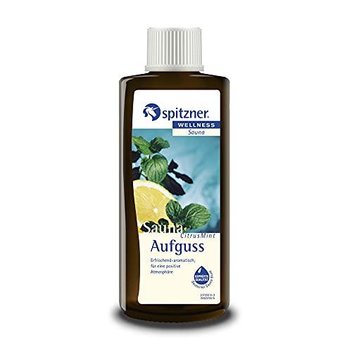 Spitzner Saunaaufguss Wellness Citrus-Mint (190ml)...