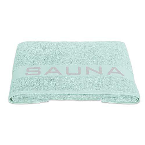 Delindo Lifestyle® Handtuch-Serie COLARES Mint, Saunatuch XXL in 80x200 cm für Damen