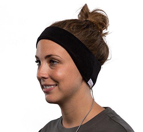 AcousticSheep SleepPhones v6 Wired Headband Headphones (2018) - Bequem zum Schlafen, Reisen, Yoga, Meditieren, Entspannen, ASMR und Binaural Beats. Fleece,...