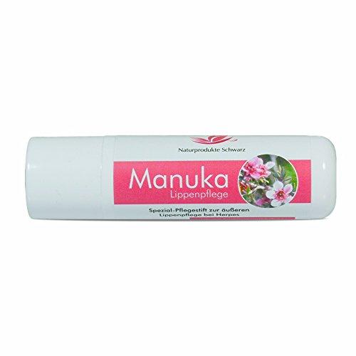 Naturprodukte Schwarz - Manuka Lippenpflege - Lippenstift...
