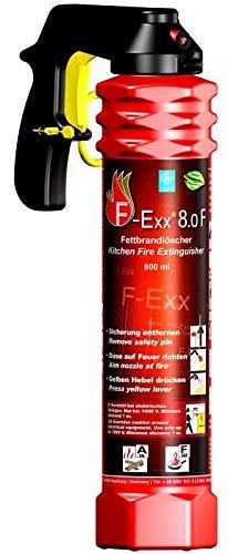 F-Exx 8.0 F - Der Feuerlöscher für Küche und Zuhause...