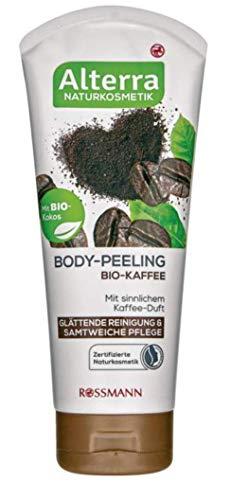 Body-Peeling Bio-Kaffee - mit sinnlichem Kaffee-Duft, glättende Reinigung & samtweiche Pflege, zertifizierte Naturkosmetik, vegan - 200 ml