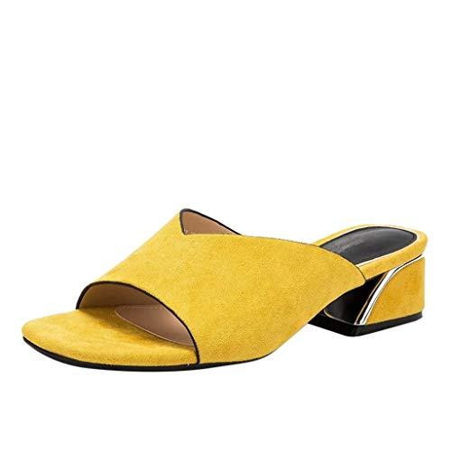 Sandaletten für Damen/Dorical Frauen High Heels Sandalen...