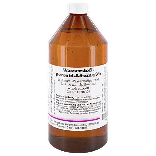 Wasserstoffperoxid L�sung 3%, 1000 ml