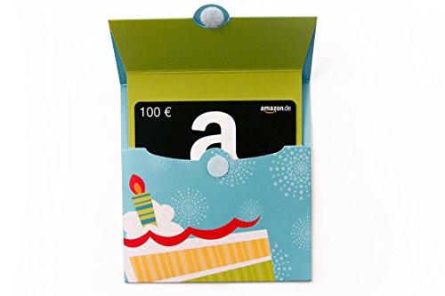 Amazon.de Geschenkkarte in Geschenkkuvert- 100 EUR...