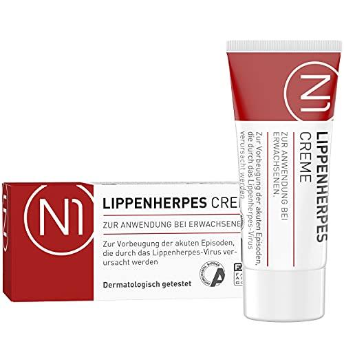 N1 Herpes Creme bei Lippenherpes mit Sofort-Effekt 2ml -...