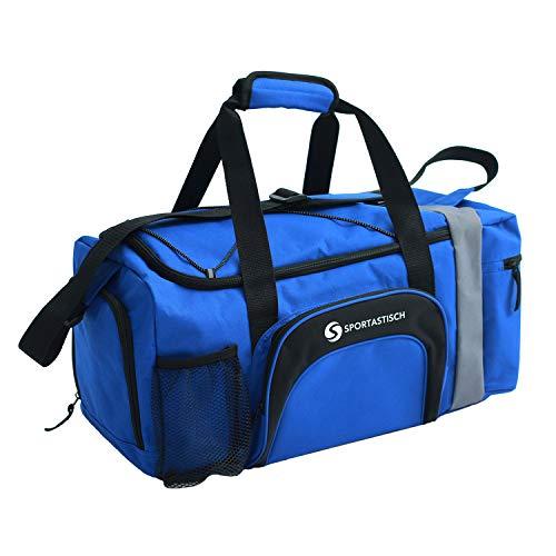 Sportastisch Sporttasche Sporty Bag für Herren & Frauen, Große Reisetasche mit Schuhfach, Leichte Faltbare Gym Fitness Tasche Handgepäck Weekender mit SGS-Zertifikat* für...