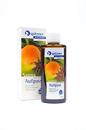 Spitzner Saunaaufguss Wellness Anis-Orange (190ml) Konzentrat