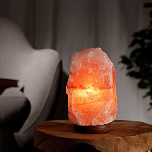 Salzkristalllampe aus der Salt Range Pakistan Salzlampe mit...