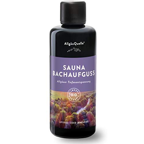 AllgäuQuelle Saunaaufguss mit 100% BIO-Öle...