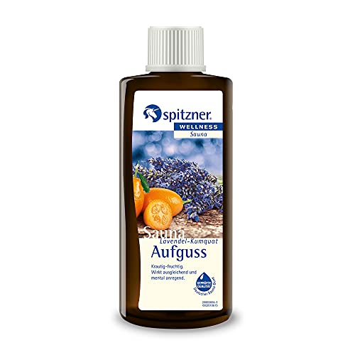 Spitzner Saunaaufguss Wellness Lavendel-Kumquat (190ml)...