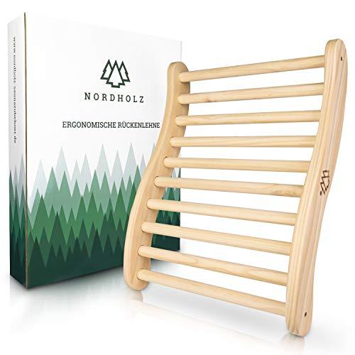 Nordholz® Sauna Rückenlehne ergonomisch - Die Perfekte...
