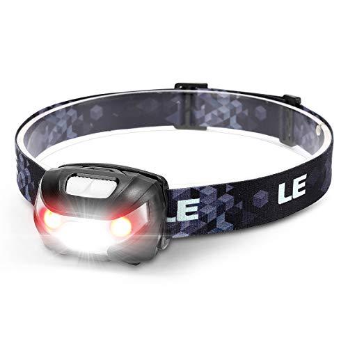 LE Stirnlampe LED Wiederaufladbar, USB Kopflampe 1300 Lux...