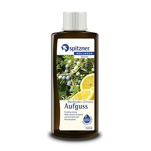 """Saunaaufguss """"Wacholder-Zitrone"""" (190 ml) von Spitzner"""