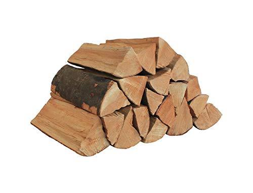 25kg Brennholz - 100% Buche, ofenfertig, Scheitlänge ca. 25 oder 33 cm - für Kamin, Ofen, Feuerschalen, Lagerfeuer - Buchenholz Kaminholz Feuerholz Grillholz (Scheitlänge...