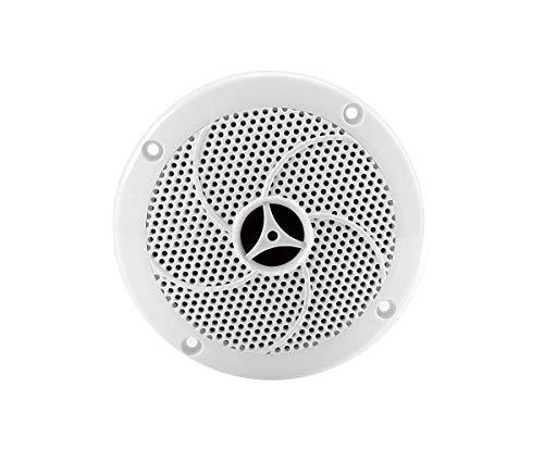 eliga Lautsprecher bis 70° C, weiß, Ø 135 mm