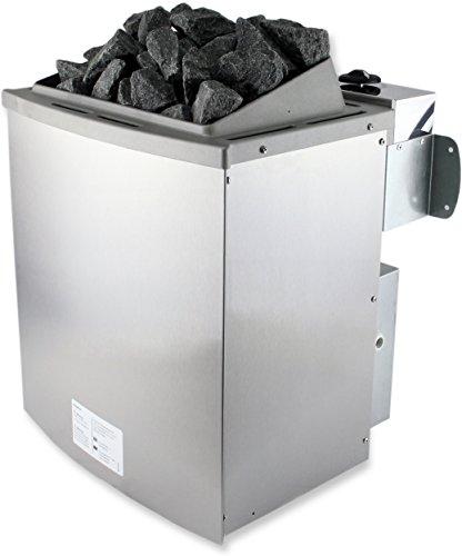 SULENO Saunaofen PORI 9,0 kW Saunasteuerung wählbar 20kg...