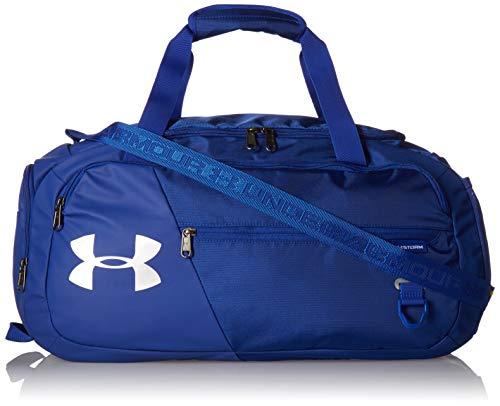 Under Armour Undeniable Duffel 4.0 MD, geräumige Sporttasche, wasserabweisende Umhängetasche Unisex, Royal / Royal / Silver , Einheitsgröße