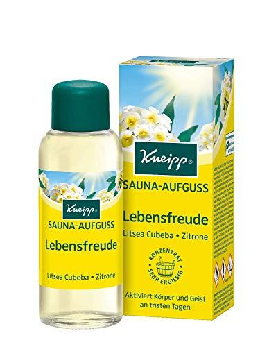 Kneipp Sauna-Aufguss Lebensfreude, 2er Pack (2 x 100 ml)