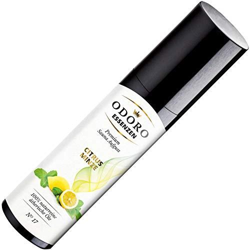Saunaaufguss Duft Zitrone Citrus Minze – 100% ätherische Öle – Premium Aufguss Konzentrat (100ml) – Natürliches Aufgussmittel, naturreine Saunaaufgüsse